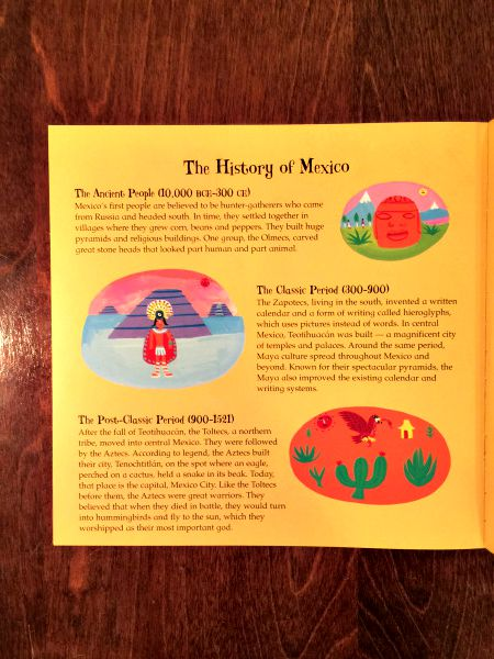 "Each ""travel the world"" book features beautiful end notes that teach children all about the history and culture of the country they visited in each particular story."