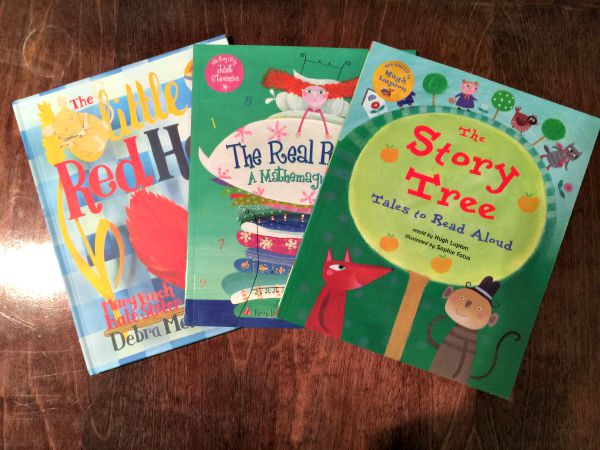 These stories with accompanying CD are great if you need to get things done around the house. We just hand one of the kids a book and pop in the audio CD and they are content for quite a while!