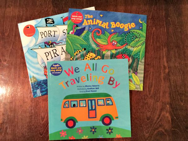 The Barefoot Books singalongs have lead to some of the most fun times we have had in our house lately. We put these on and the kids start singing and dancing instantly!