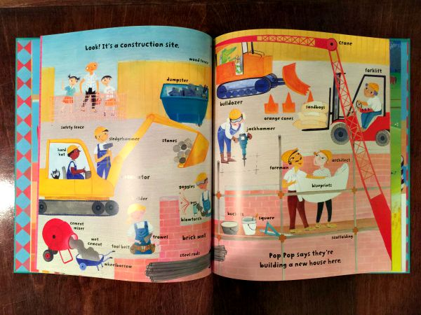 My Big Barefoot Book of Wonderful Words is another great example of some of the amazing illustrations found in these books!